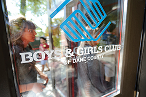 Boys & Girls club sign