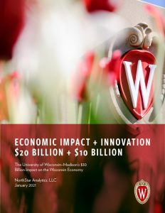 Cover of 2021 Economic Impact Report